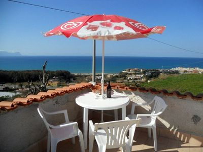 Photo for Nice Casa Andrea with beautiful panoramic views of the sea