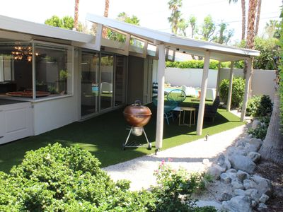 Photo for Attention Snowbirds: Secluded Mid-Century Modern Oasis with private pool