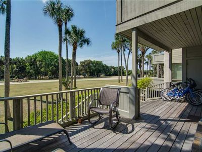 Photo for Golf View | Easy Walk To The Beach | Deck | Wifi | 2 BR Kiawah Island Villa