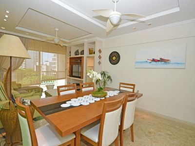Photo for Beautiful apartment with 3 bedrooms, 3 bathrooms, Pitangueiras center 200m from the beach!