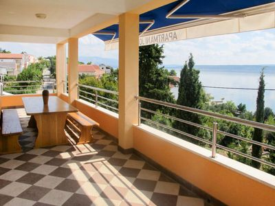 Photo for 4 bedroom Apartment, sleeps 8 in Šarić with Air Con and WiFi