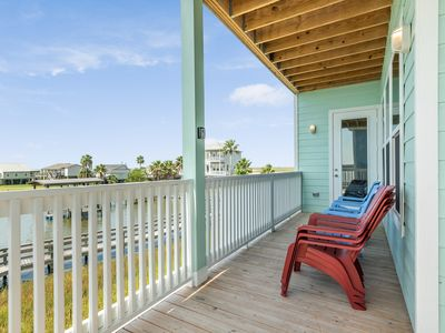 Photo for NEW LISTING! Beautiful bayfront home w/ boardwalk & boat mooring - 2 dogs OK!