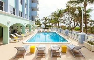 Photo for Ocean Front Two Bedroom Condo at Surfside Resort (A190)