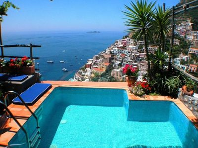 Photo for Suite Honeymoon private pool with terrace sea view – WELLNESS FREE PACKAGE