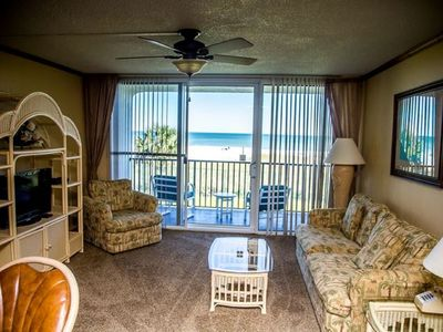 Photo for Cocoa Beach one bedroom Oceanfront condo