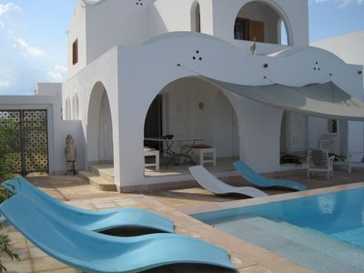 Photo for DAR EL MESBAH Beautiful Standing House with Pool 400 m from the sea