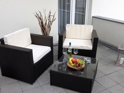 Photo for Modern Apartment in Wiek with Terrace