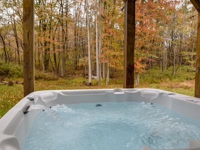 Photo for Spacious new home, HOT TUB, perfect family getaway, BEST LOCATION in Poconos !!!