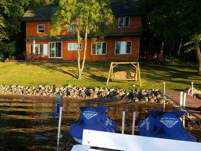 Photo for Cabin on Cedar Lake great for families, clean & comfortable