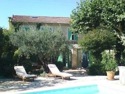 Photo for Charming farmhouse to rent in Provence-''Mas des Olivades''-Provencal farm.