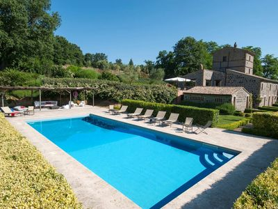 Photo for Villa Collombroso, located in the Umbrian countryside, with 5 bedrooms, 12 sleeps.
