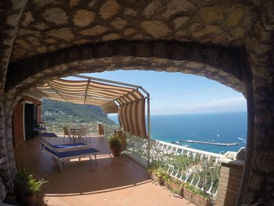 Photo for Incredibly panoramic apartment in the heart of Capri