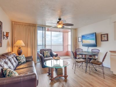 Photo for Gulf Front One Bedroom on Fort Myers Beach/ Estero Island- Unit 703