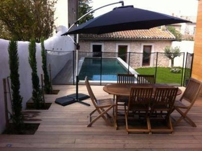Photo for House with pool 10 minutes walk from the CV of Carcassonne, quality services