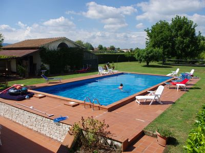 Photo for Beautiful B & B house in the center of the province of Padua with pool and garden