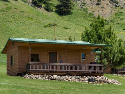 Photo for Deer Cabin-Sleeps 2 with beautiful views of the Beartooth Mountains
