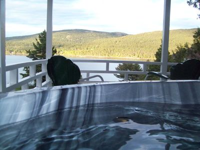 Photo for Oceanfront, Hot Tub & Fire Pit-near Bar Harbor and Acadia National Park