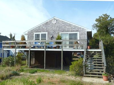 Rear of House facing the Delaware Bay.