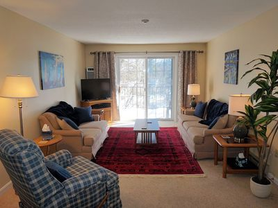 Photo for TOP FLOOR CONDO - EASY WALK TO LAKE WINNIPESAUKEE & WEIR'S BEACH!