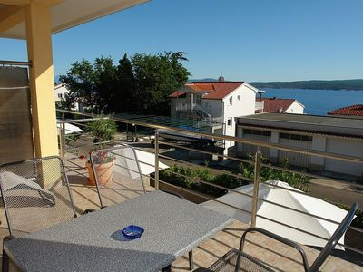 Photo for Apartment Dramalj for 2 - 4 people with 1 bedroom - Holiday