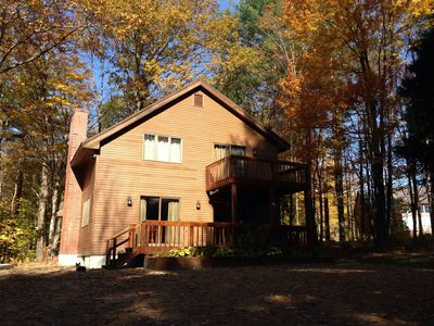 Our home in the fall!