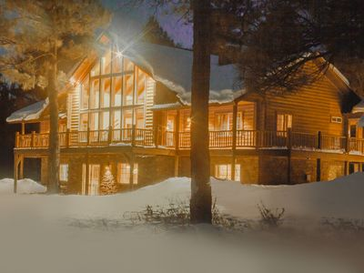 Photo for Steven's Lodge - Large cabin that is perfect for family and friend vacations!