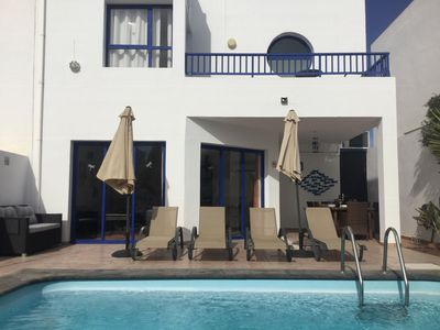 Photo for Beautiful Luxury villa with WIFI, Private Heated Pool and private garden