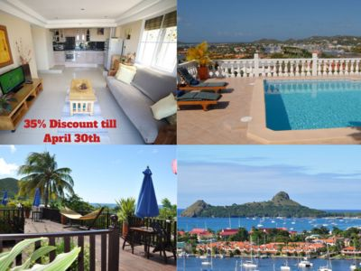 Photo for Luxury One bed Suite with a Breath taking Views of St Lucia