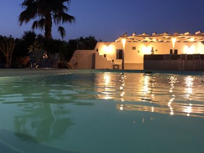 Photo for Villa DaLuz, 5 Bedrooms 5 Bathrooms large pool, tennis and basketball court and billiard