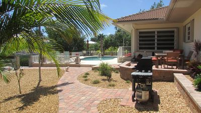 Photo for MAY SALE!! Tropical Pool Home-Spacious & Small Pet Friendly