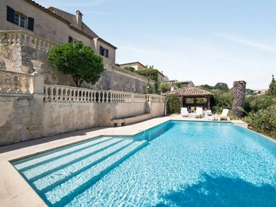 Photo for Traditional villa with pool and breathtaking view