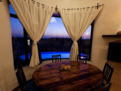 Photo for villa with an amazing desert sunset view