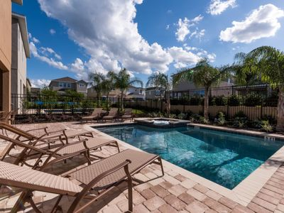Photo for Luxury on a budget - The Encore Club Resort - Welcome To Spacious 8 Beds 7 Baths  Pool Villa - 4 Miles To Disney