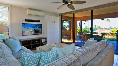Photo for Spring Sale $225/Fabulous Ocean View, Remodeled, Quiet,Oversized Lanai, Sleeps 5