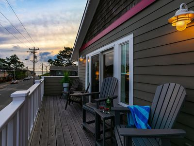 Photo for NEW! Center of town, Luxurious Details, 2 blks to Beach, Balcony w/ OceanView