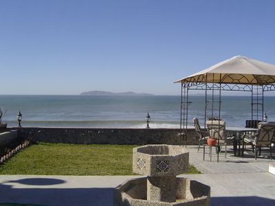 Photo for Oceanfront beach house with panoramic views and Gorgeous sunsets