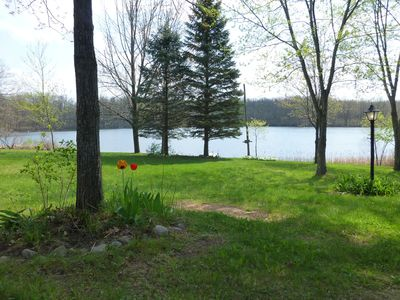 Photo for Secluded Lake Front Property With 2 Homes For The Price Of One!