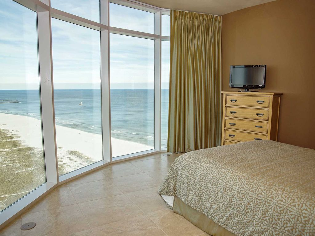 Unobstucted Views Corner Condo Sleeps 10 All Tile Turquoise Place 2001c Orange Beach