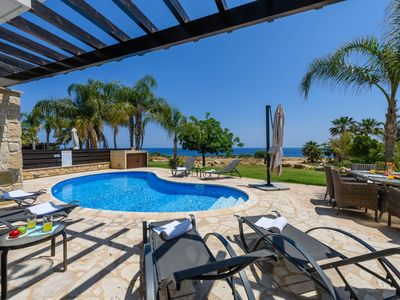 Photo for Non-obstructive view of the Mediterranean Sea offers the relaxation you deserve