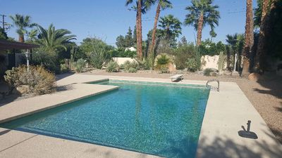 Photo for Great Vacation Pool House With Retro Interior, Close To El Paseo Shopping