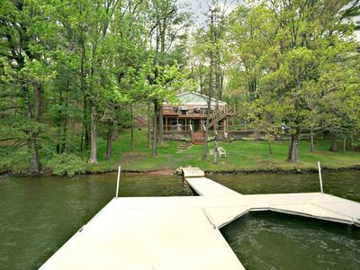 Photo for Kiss the Lake- Lakefront home in heart of Deep[ Creek Lake