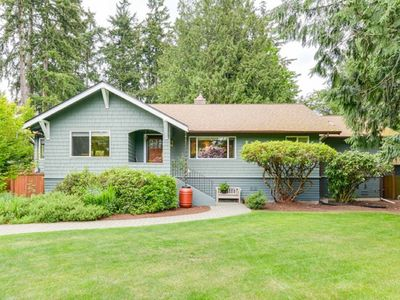 Photo for Charming Updated Seattle Craftsman in Private Peaceful Setting