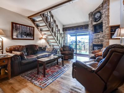 Photo for Spacious Family Home Nestled into Slopes; Ski-In/Out; Shuttle; Discount Lift Tix