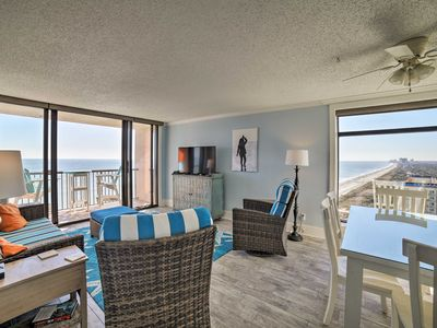 Photo for Oceanfront Myrtle Beach Condo w/ Resort Amenities!
