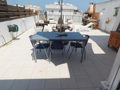 Photo for Sunny Penthouse Apartment - A breeze away from the sea