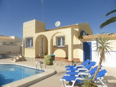 Photo for Private & Peaceful Spanish Villa Good Outside Space And Private Swimming Pool.