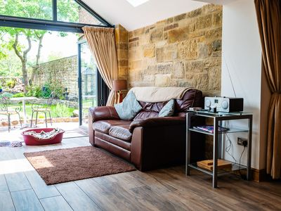 Photo for CROSS HOUSE STUDIO Dog Friendly Stone Barn Conversion in the Heart of Warkworth