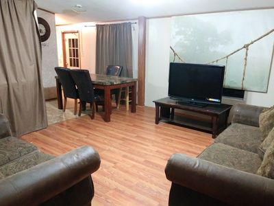 Photo for 2 rooms 2 bath Mobile home wifi showtime hbo. No fees