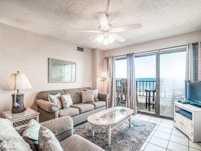 Photo for Steps to Beach-Short Drive to Dining & Shops - Pool - Free Water Park, Golf Aquarium Tickets - AT40