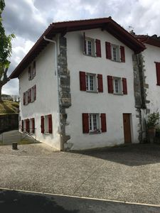 Photo for typical Basque house village center